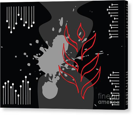 Abstract Background Canvas Print by Kmolnar