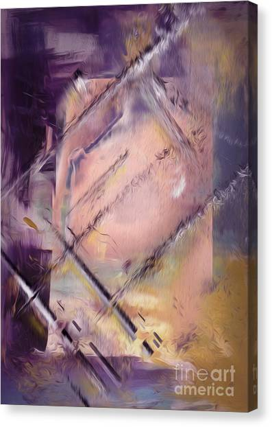 Colorplay Canvas Print - Abstract by Bruno Santoro