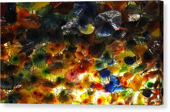 Abstract Color Canvas Print by Michael Davis