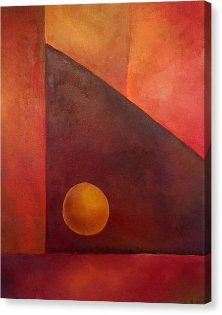 Abstract Composition Canvas Print by Kim Cyprian