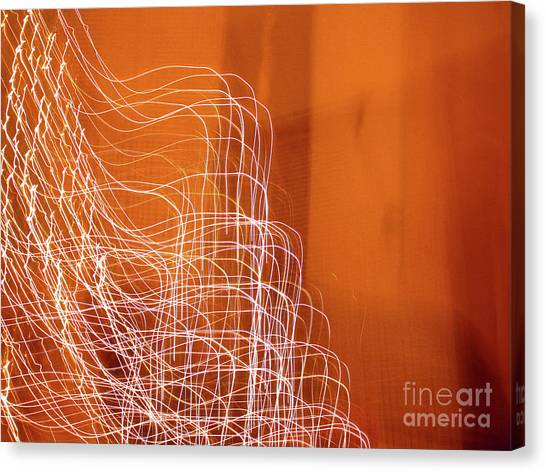 Abstract Energy Canvas Print