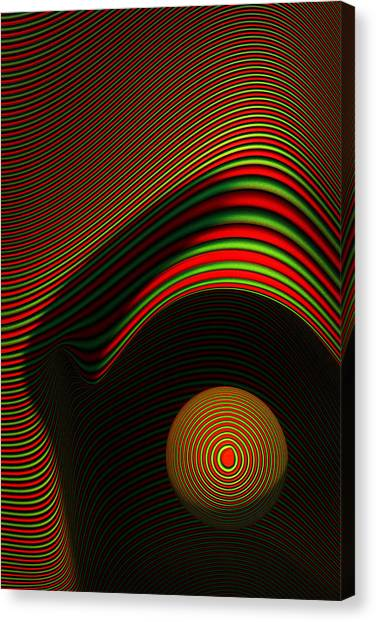 Computers Canvas Print - Abstract Eye by Johan Swanepoel