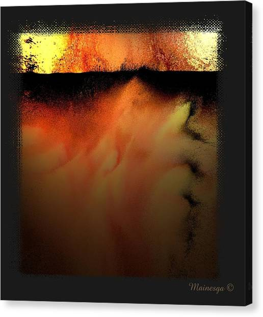 Abstract-f-r-b Canvas Print