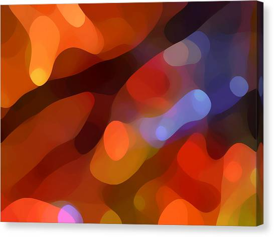 Abstract Fall Light Canvas Print