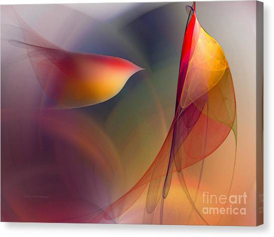 Abstract Fine Art Print Early In The Morning Canvas Print