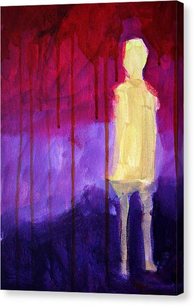 Apparition Canvas Print - Abstract Ghost Figure No. 3 by Nancy Merkle