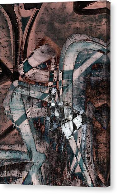 Abstract Graffiti 1 Canvas Print