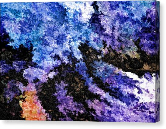 Abstract Granite Canvas Print