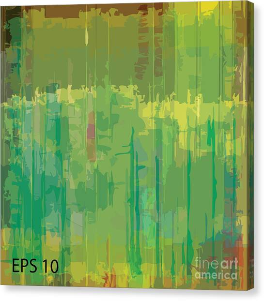 Empty Canvas Print - Abstract Grunge Scratched Texture by Iulias