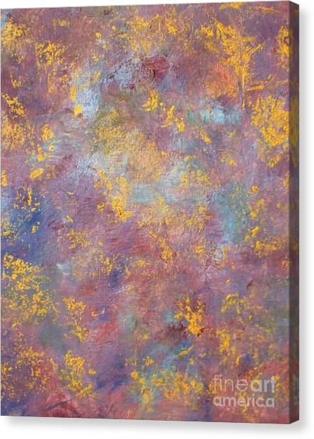 Abstract Impressions Canvas Print