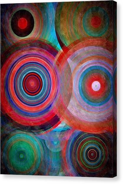 Abstract In Silk  Canvas Print
