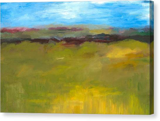 Abstract Landscape - The Highway Series Canvas Print