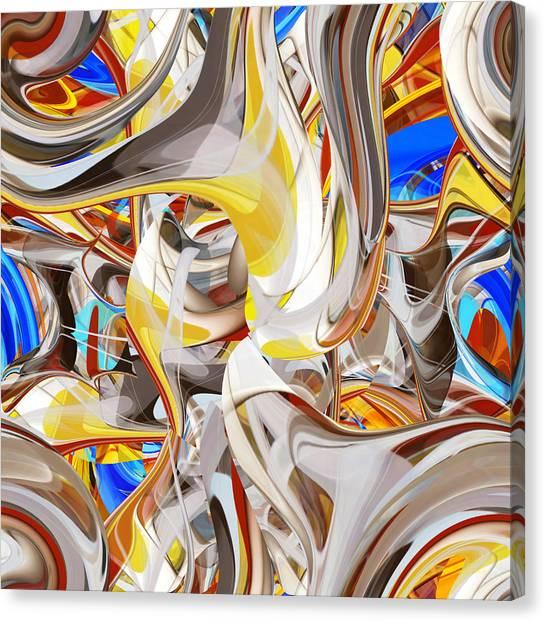 Carousel - 018 Canvas Print