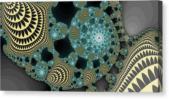 Abstract Number 9  Canvas Print by James Hammen