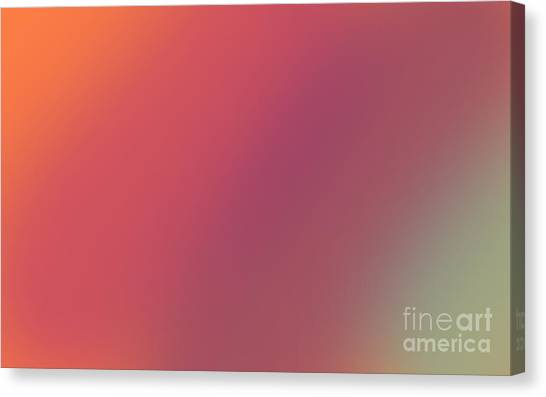Abstract And Polychromatic Background 1 Canvas Print by Enrique Cardenas-elorduy