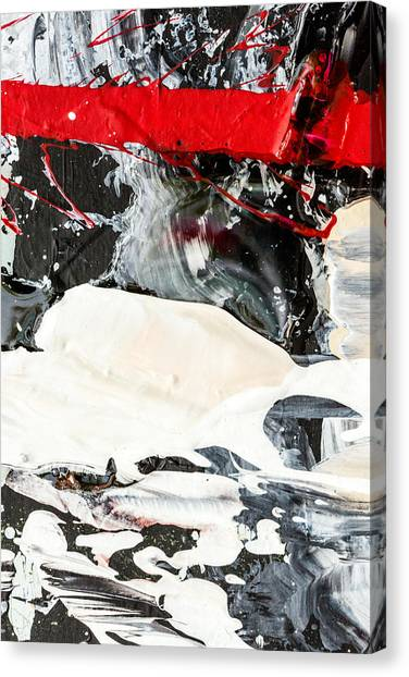 Abstract Original Painting Number Three Canvas Print