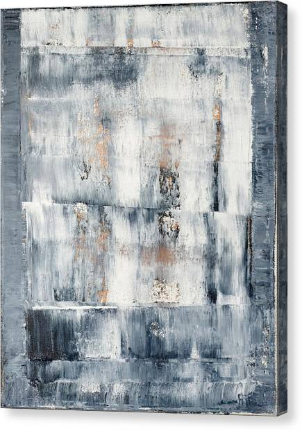 Gerhard Richter Canvas Print - Abstract Painting No. 1 by Julie Niemela