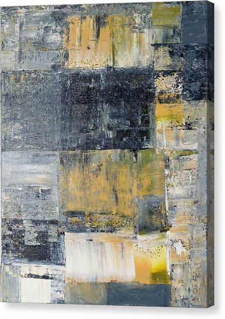 Gerhard Richter Canvas Print - Abstract Painting No. 4 by Julie Niemela