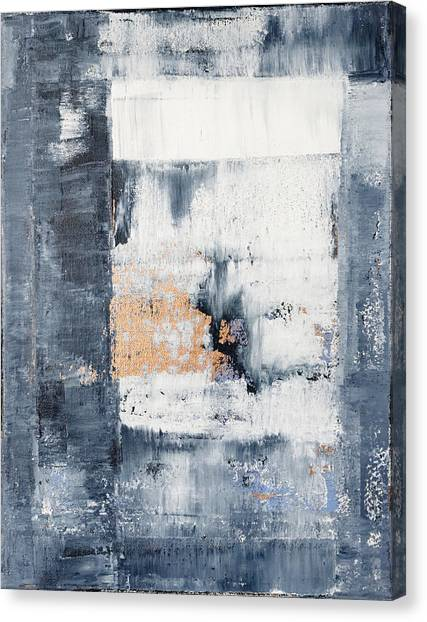 Gerhard Richter Canvas Print - Abstract Painting No.5 by Julie Niemela