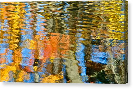 Sublime Canvas Print - Abstract Reflection by Frozen in Time Fine Art Photography