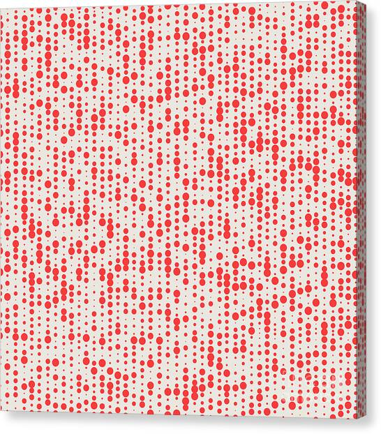 Dots Canvas Print - Abstract Seamless Pattern. Seamless by Sunshiny