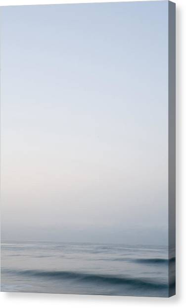 Abstract Seascape 2 Canvas Print