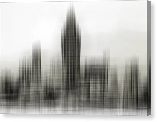 Abstract Skyline Canvas Print