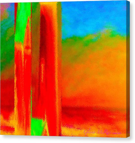 Abstract Splendor II Canvas Print