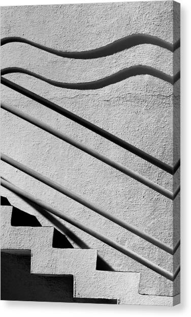 Abstract Stairs Canvas Print