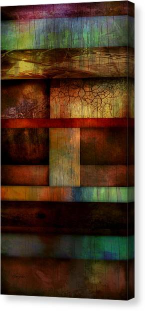 Abstract Study Five  Canvas Print