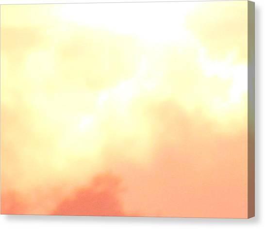 Abstract Sunrise Canvas Print