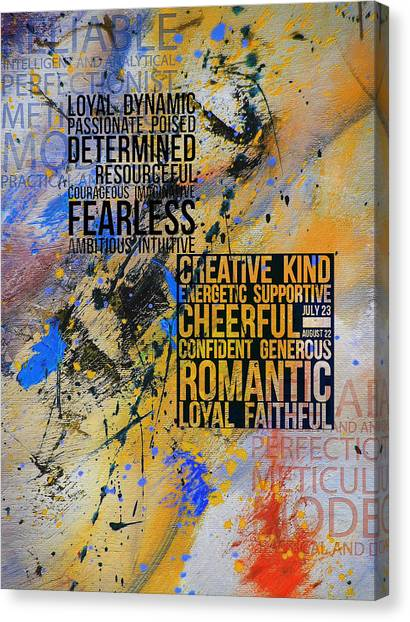 Torah Canvas Print - Abstract Tarot Art 018 by Corporate Art Task Force
