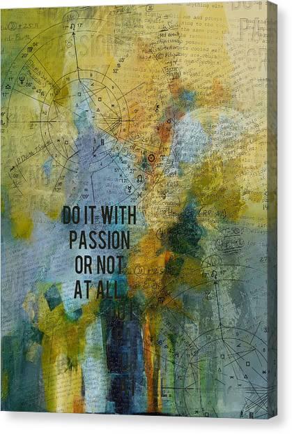 Torah Canvas Print - Abstract Tarot Art 020 by Corporate Art Task Force