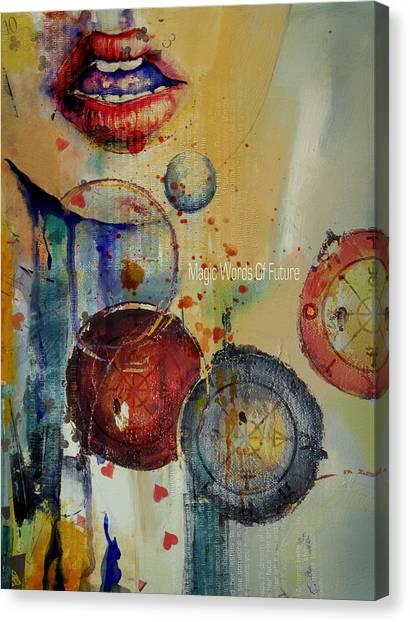 Torah Canvas Print - Abstract Tarot Art 021 by Corporate Art Task Force