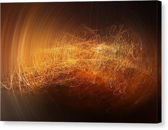 Abstract Time Canvas Print