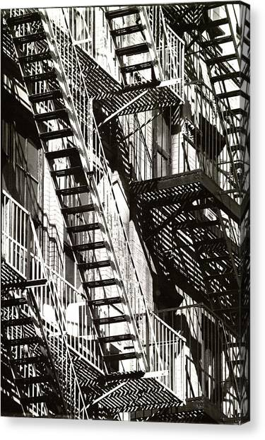 Abstract Urban Canvas Print