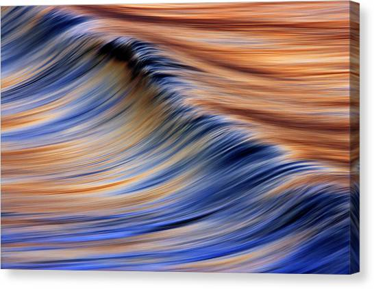 Abstract Wave 2  C6j7799 Canvas Print