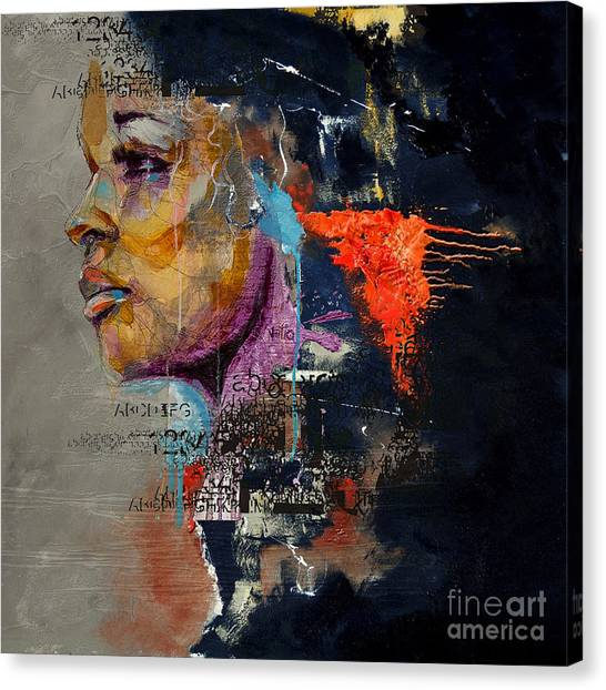 Abstract Women 20 Canvas Print