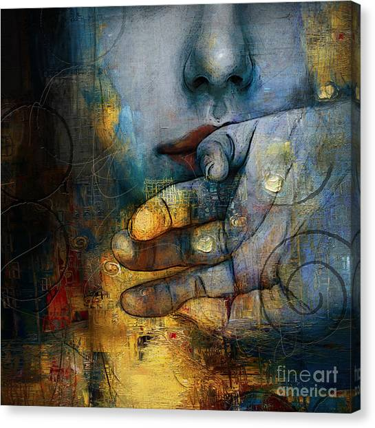 Abstract Women 5 Canvas Print