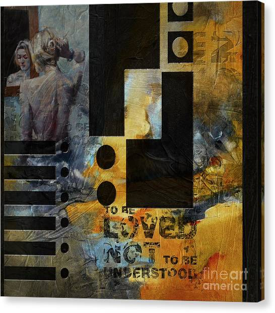 Abstract Women 6 Canvas Print