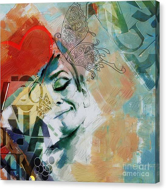 Abstract Women 8 Canvas Print