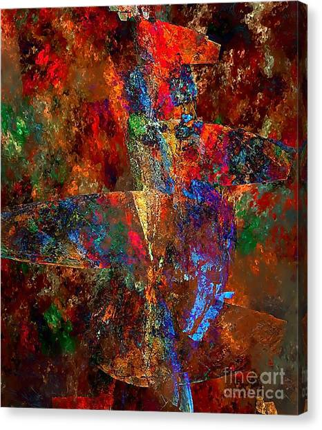 Abstraction 0393 Marucii Canvas Print