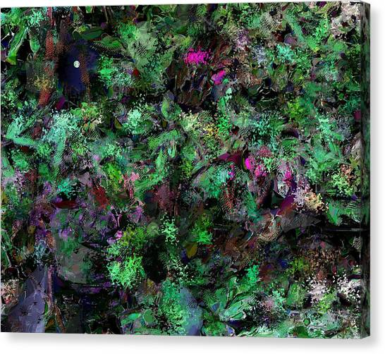 Canvas Print - Abstraction 121514 by David Lane