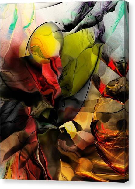 Canvas Print - Abstraction 122614 by David Lane