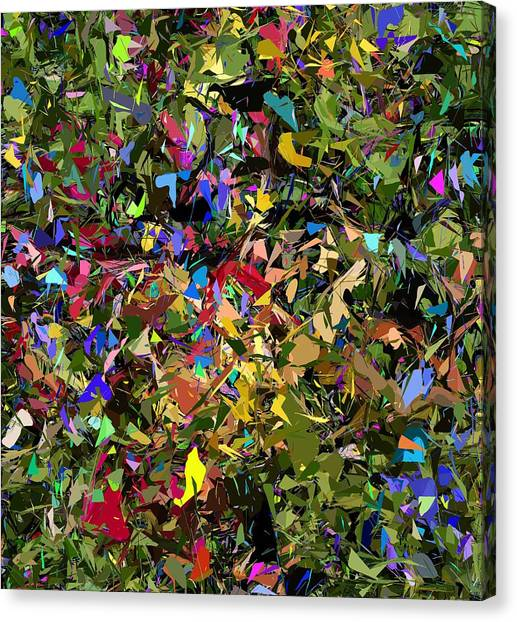 Canvas Print - Abstraction 2 0211315 by David Lane