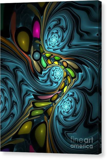 Abstraction 254-06-13 Marucii Canvas Print
