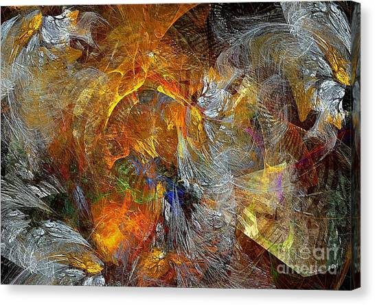 Abstraction 435-08-13  Marucii Canvas Print