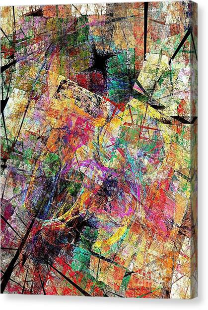 Abstraction 442-09-13 Marucii Canvas Print
