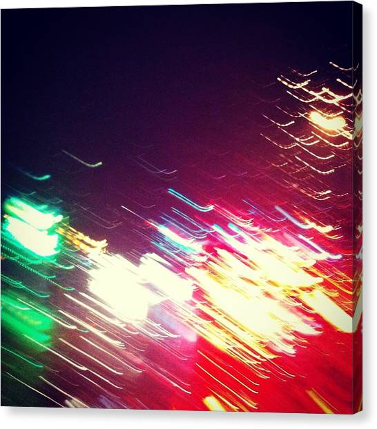 Abstraction Distraction For Mka Canvas Print