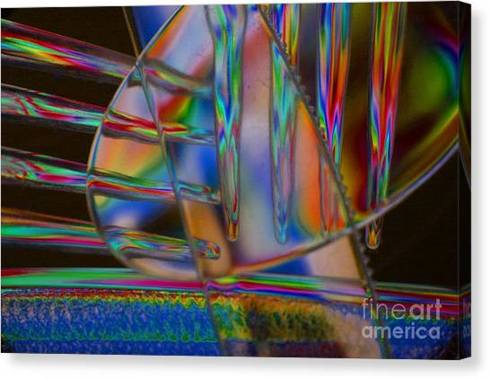 Abstraction In Color 1 Canvas Print